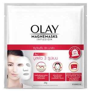 OLAY REJUVENATING MASK SHEET RED COLOR 24 G