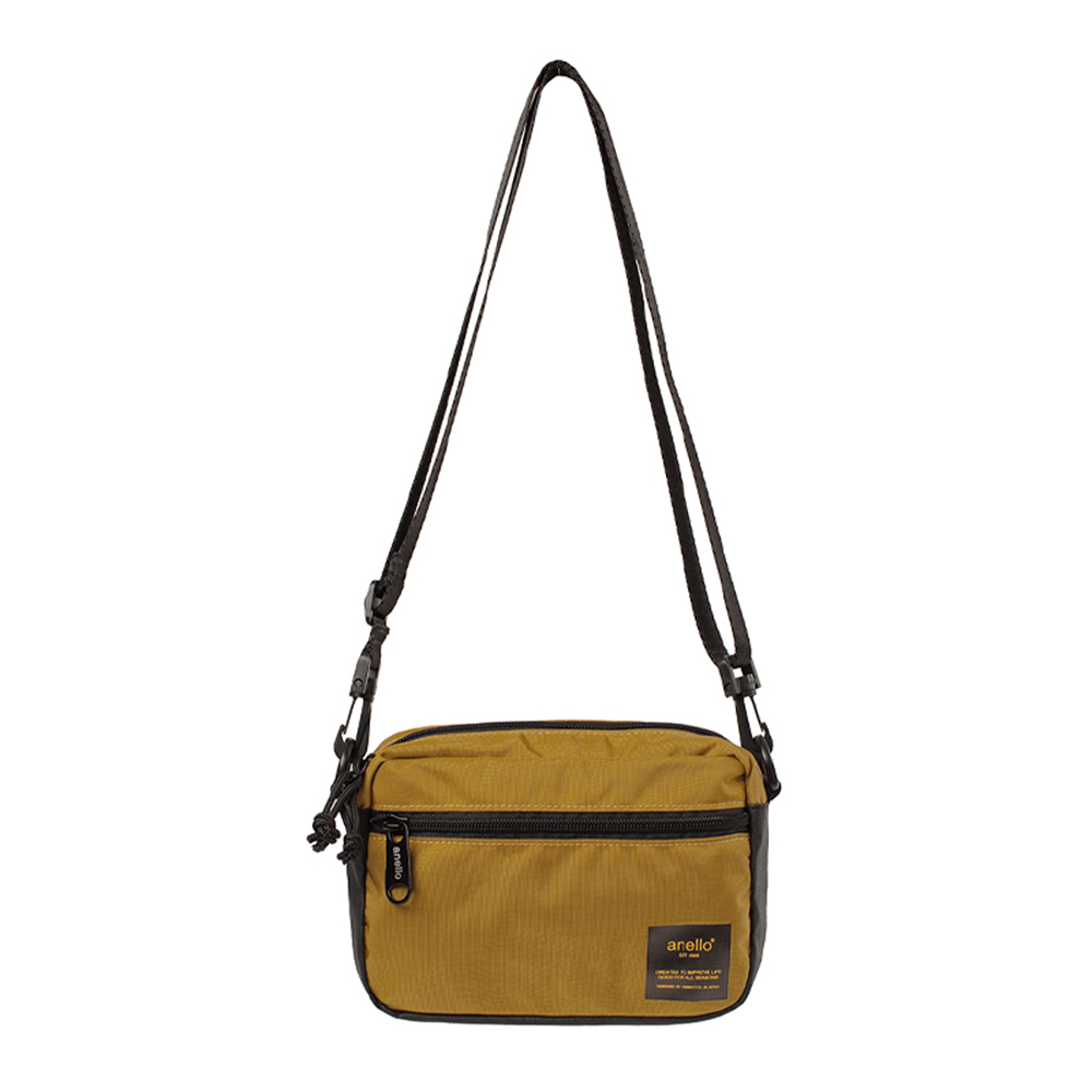 Anello Mellow Shoulder Bag NY AH-B3272 Mustard