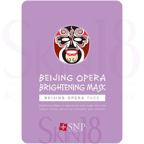 SNP ANIMAL BEIJING OPERA BRIGHTENING MASK