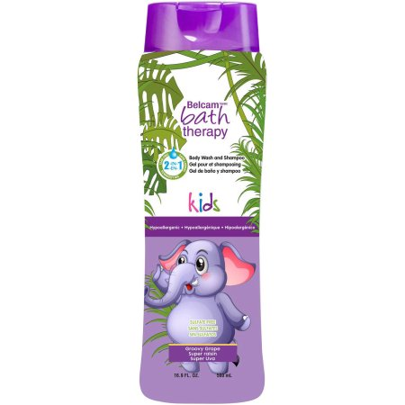 Belcam Bath Therapy Kid's Body Wash and Shampoo Mellow Melon