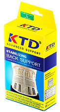 KTD SUPPORT + หลัง M,L,XL
