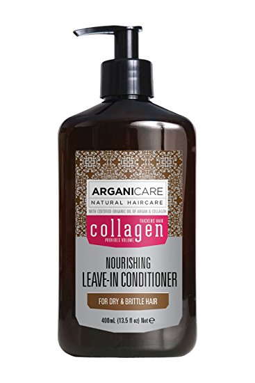 Arganicare Collagen Leave-in Conditioner For Dry & Brittle Hair 400 ml.