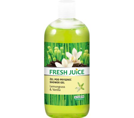 FRESH JUICE LEMONGRASS & VANILLA SHOWER CREAM