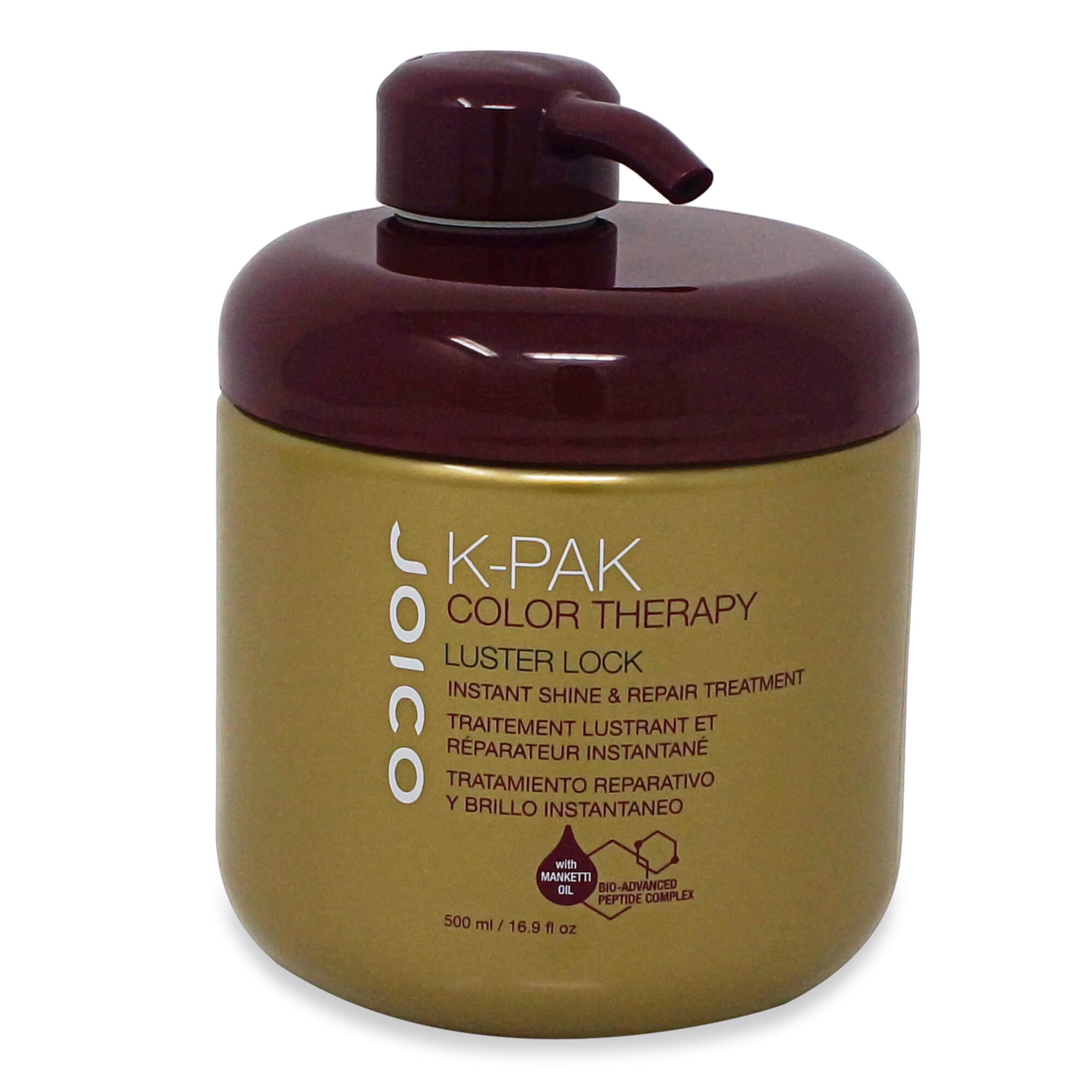 JOICO K-PAK COLOR THERAPY LUSTER LOCK INSTANT SHINE & REPAIR TREATMENT 500 ML.