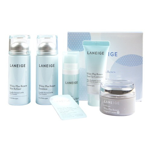 Laneige white plus renew trial set