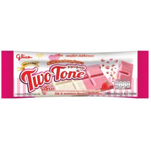 ทูโทน (ขนมรสหวานรสนมและกลิ่นสตรอเบอรี่)