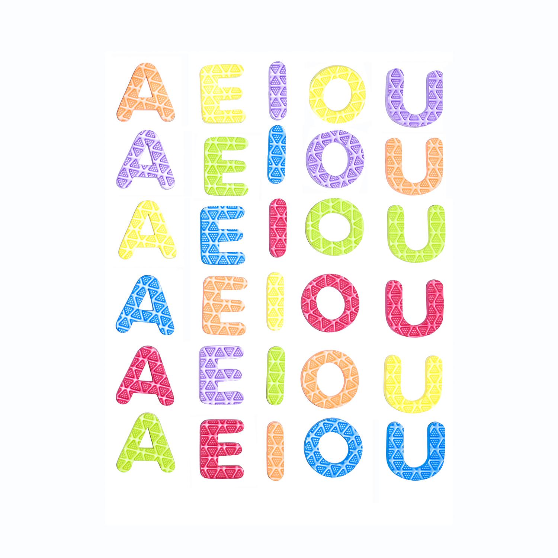 อักษรแม่เหล็ก AEIOU