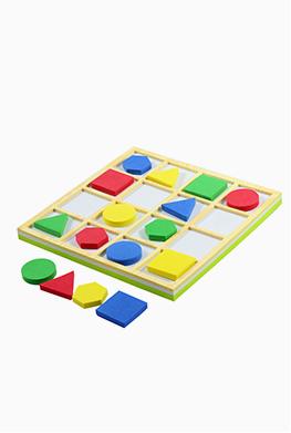 จัตุรัสกล 4×4 เกมคณิตศาสตร์ เรียงรูป เรียงสี โดย สสวท
