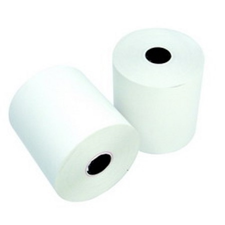 Receipt paper 75 x 75 cm. 1 layer (10 roll/pack)
