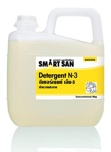 น้ำยาทำความสะอาด Smart San Neutral Detergent N-3 ขนาด 5 กิโลกรัม
