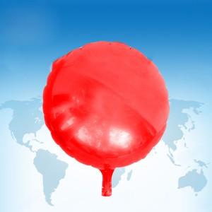 ฟอยล์กลม สีแดง