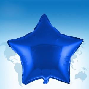 """ฟอยล์ดาว 18"""" สีน้ำเงิน"""