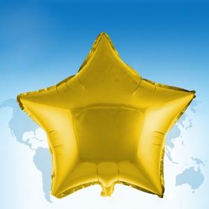 """ฟอยล์ดาว 18"""" สีทอง"""