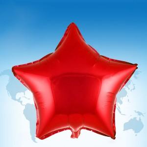 """ฟอยล์ดาว 18"""" สีแดง"""