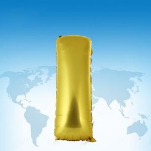 ฟอยล์ตัวอักษร 40 นิ้ว สีทอง I