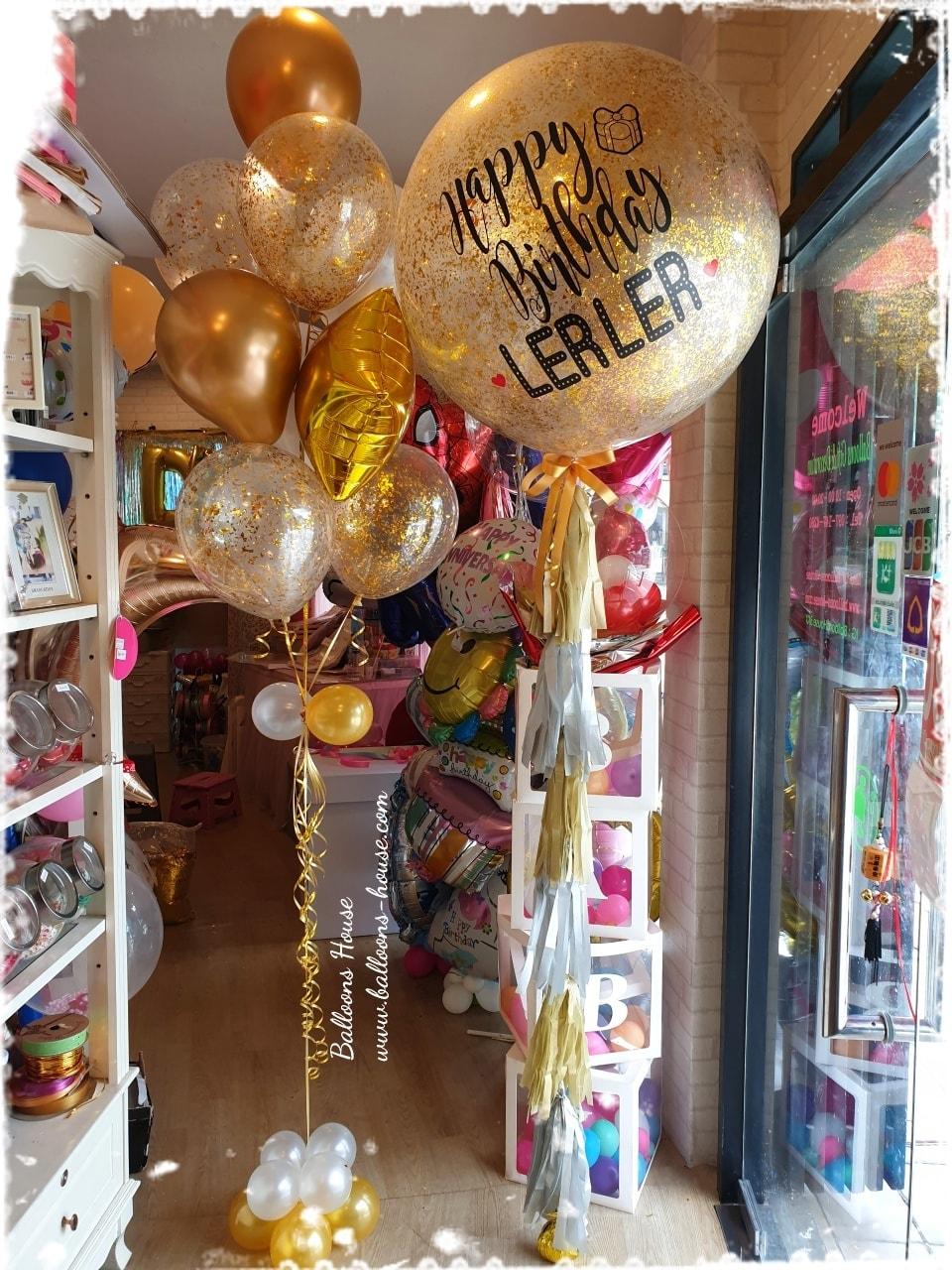 Golden Love Birthday Set