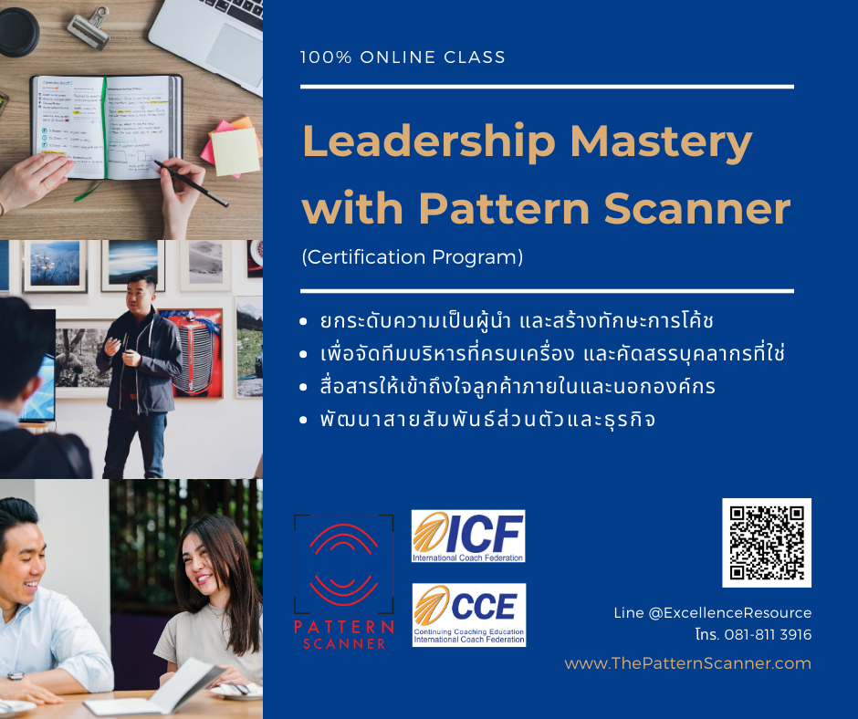 Leadership Mastery with Pattern Scanner