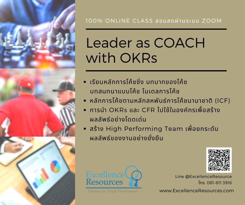 Leader as COACH with OKRs