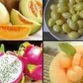 รังนกกับผลไม้ 4 สี
