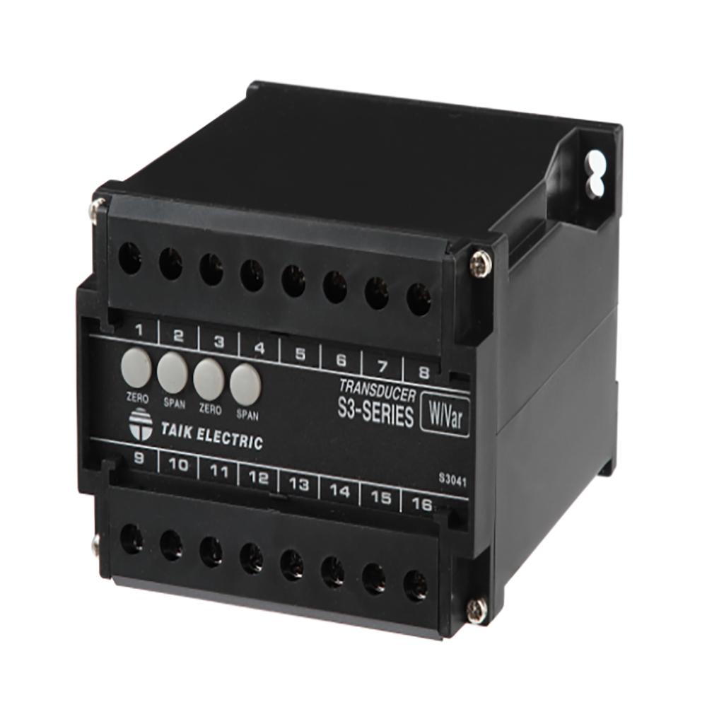 S3-WRD ACTIVE/REACTIVE POWER (WATT/VAR) TRANSDUCER