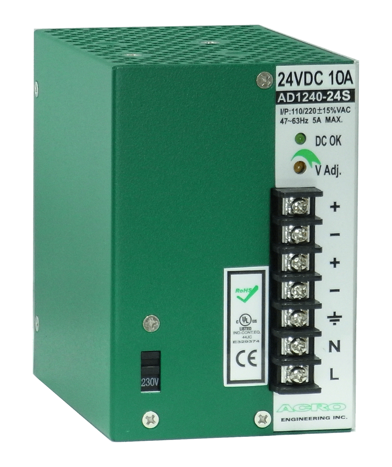DIN Rail Mounting Power Supply - AD1240S Series