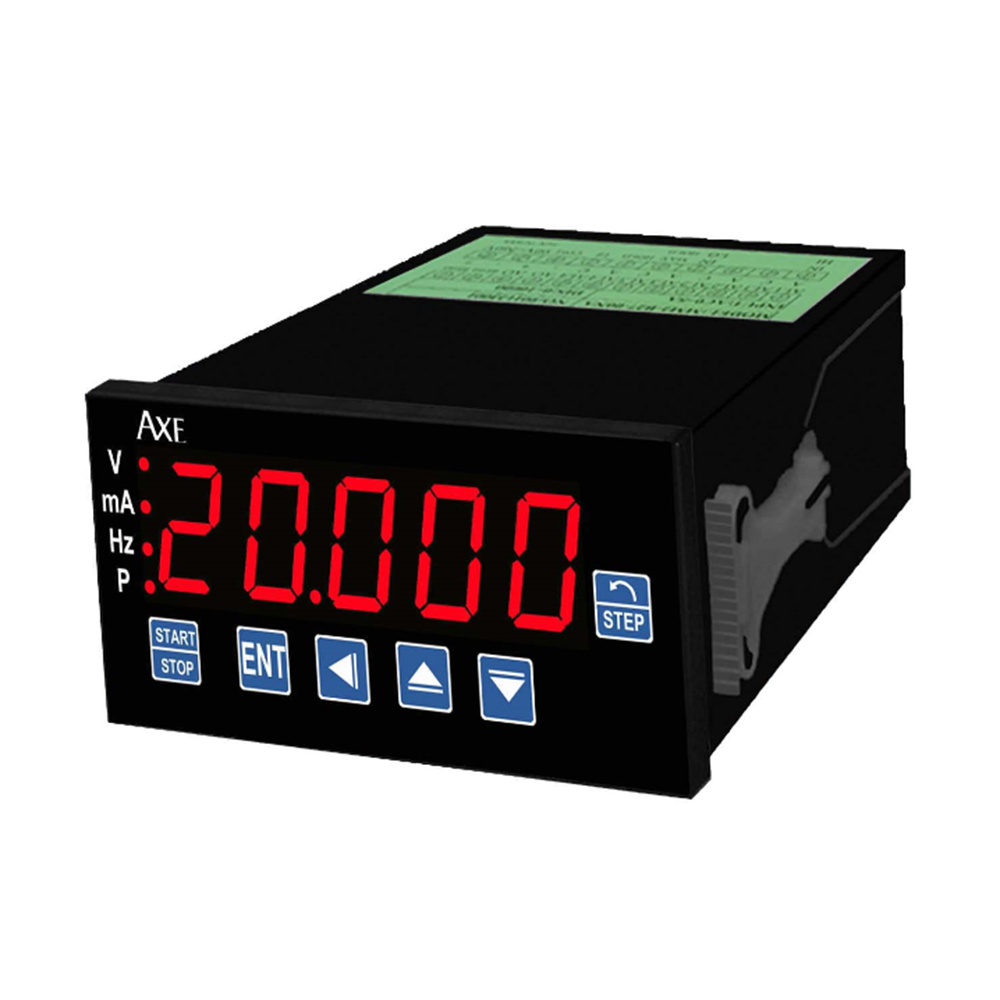 MDFG MICROPROCESS DC CURRENT AND DC VOLTAGE AND FREQUENCY(PULSE)CALIBRATOR METER(48X96mm)
