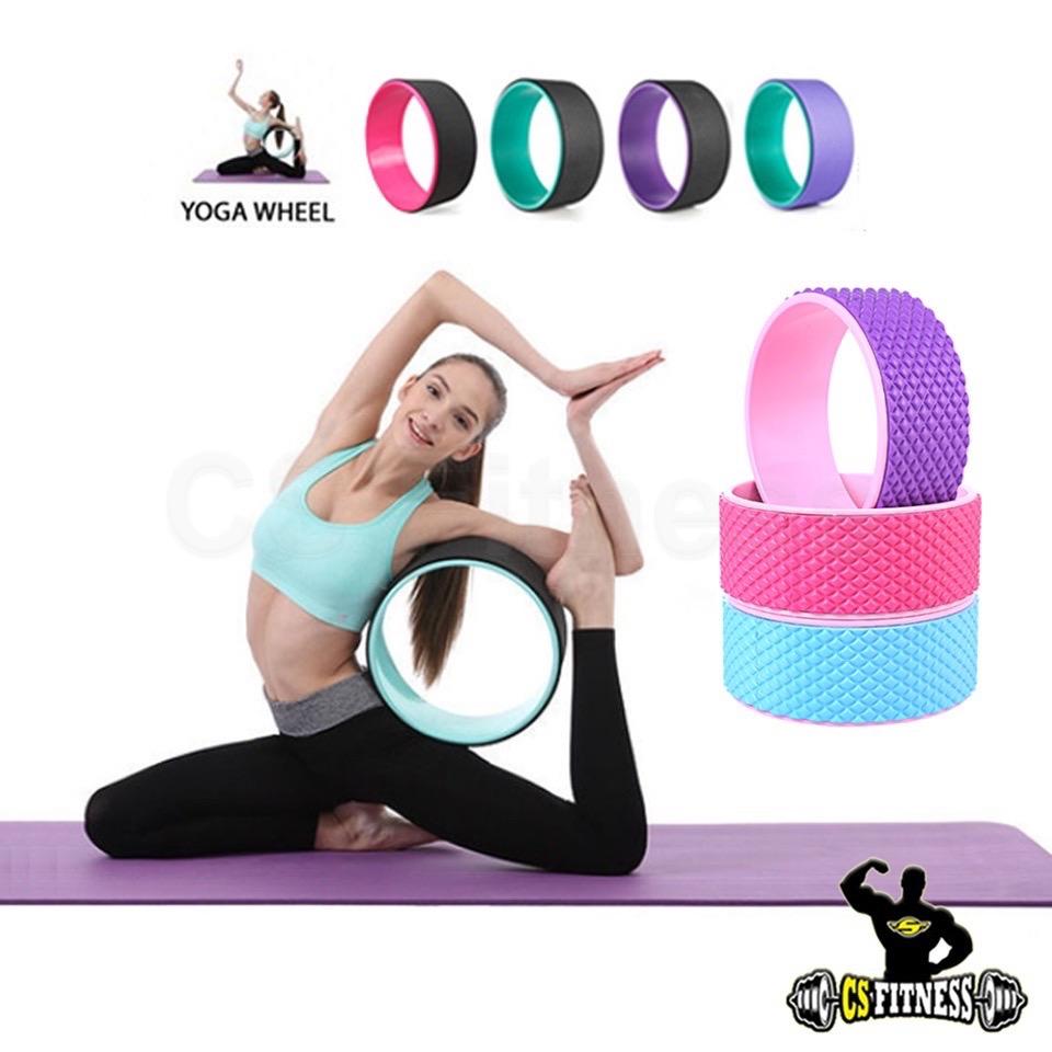 Yoga wheel - วงล้อโยคะ อุปกรณ์เสริมโยคะ