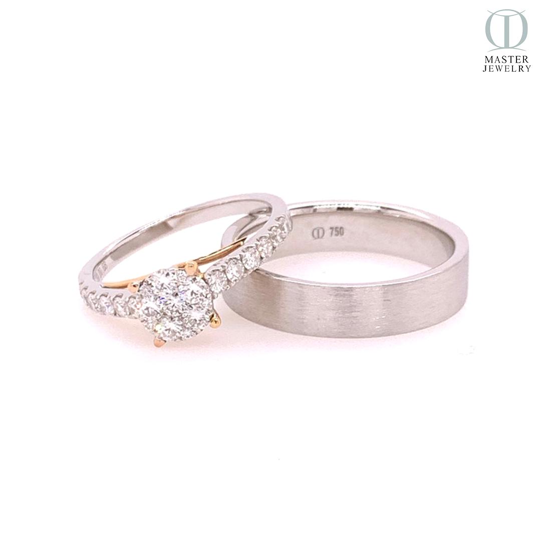 แหวนแต่งงานคู่