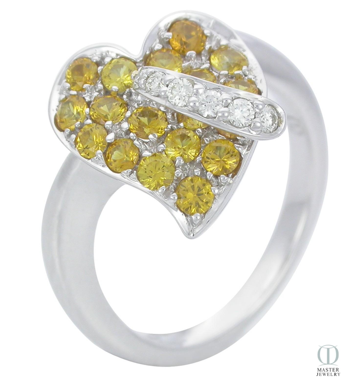แหวนพลอย YELLOW SAPPHIRE RING