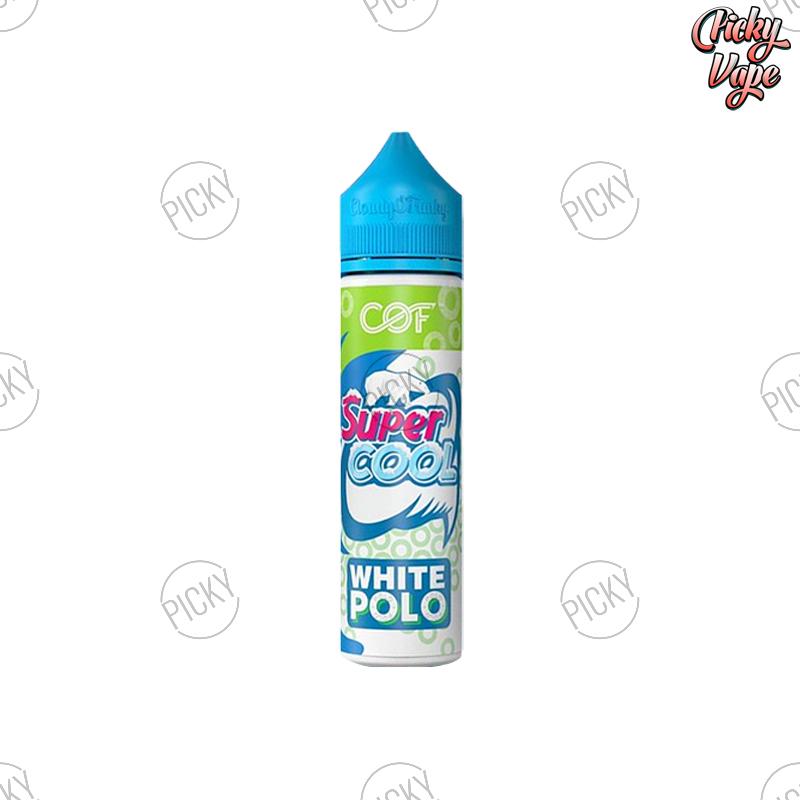 Super Cool White Polo - ลูกอมโปโล 60ml