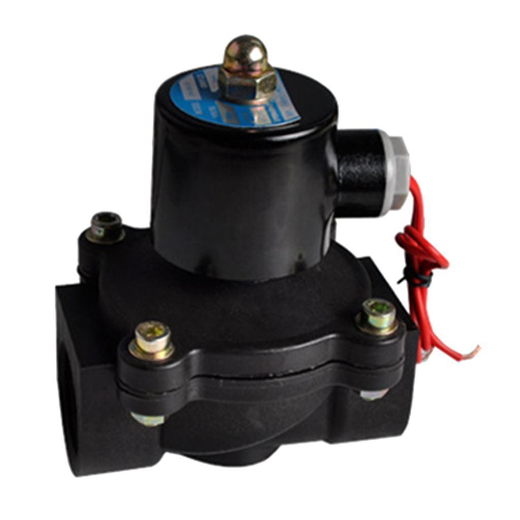 1'' Electric Solenoid Valve for Water Air Oil Normally Closed DC12V
