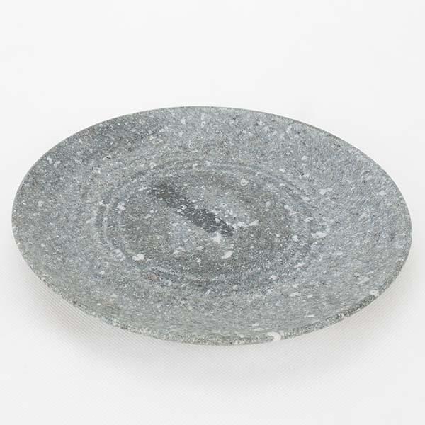 จานกลมหิน ขนาด 21 ซม.