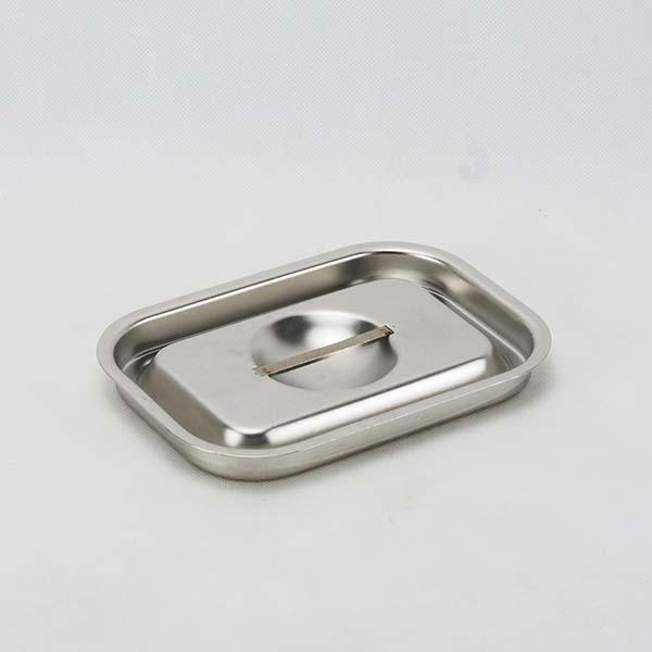 Bain-marie lid ,heavy,s/s,  15.5x10.5 cm.