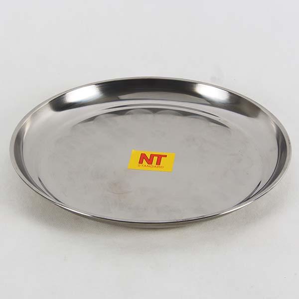 Round tray 32 cm. s/s