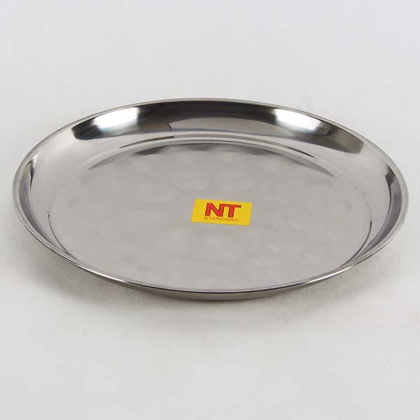 Round tray 34 cm. s/s