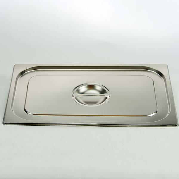 GN lid, s/s, 1/1 530×325 mm.