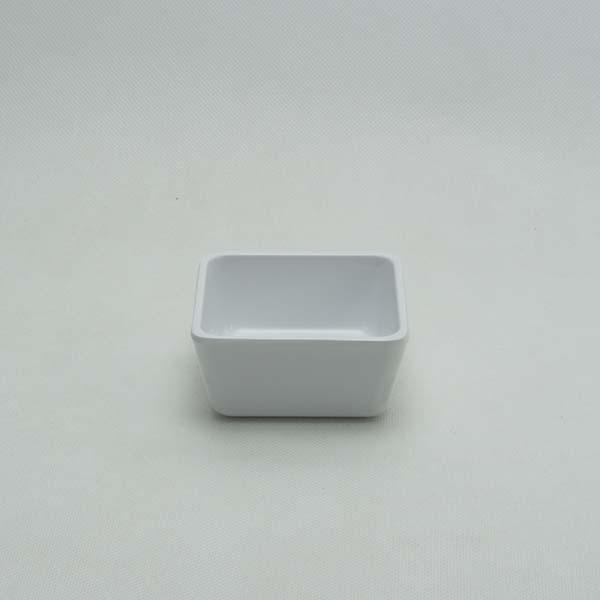 "Square bowl 2.75 "" White"