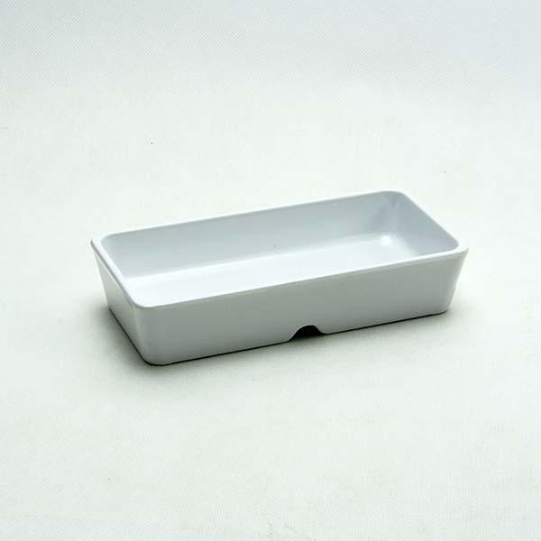 """Rectangular bowl leigo 5.75""""  White"""