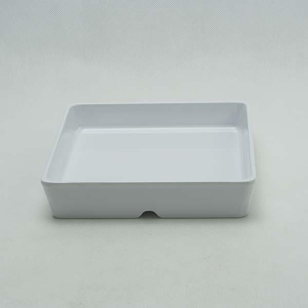 """Square bowl leigo 5.75"""" White"""