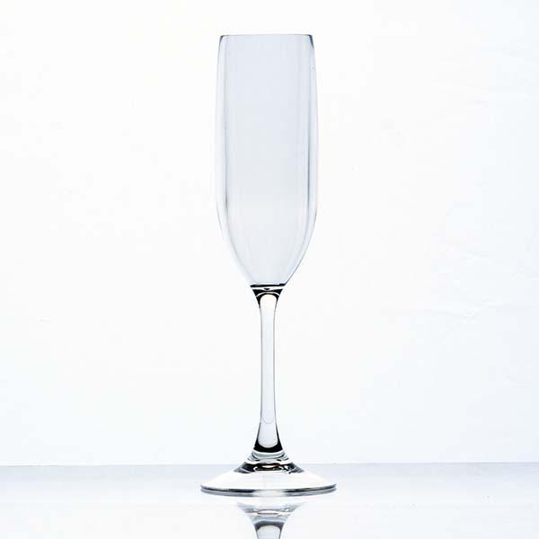 แก้วแชมเปญพลาสติก Copolyester 150 ml