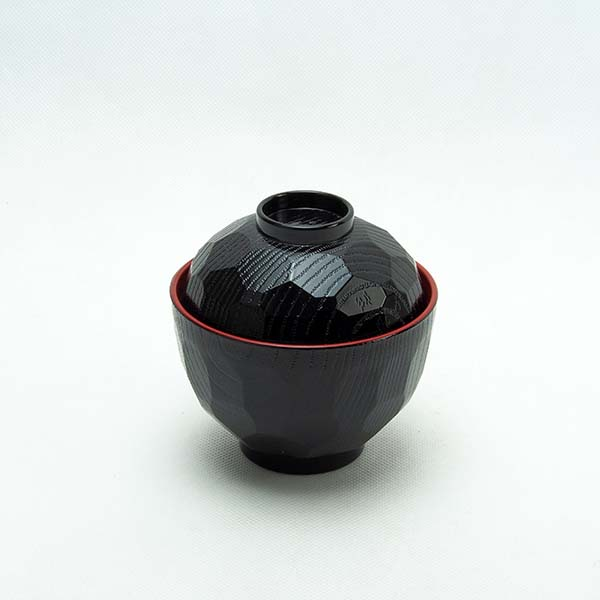 Cup with  lid black