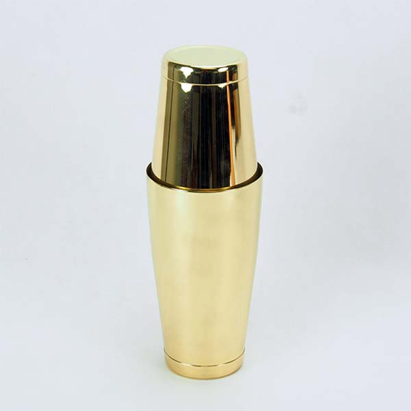 Boston shaker, Light gold