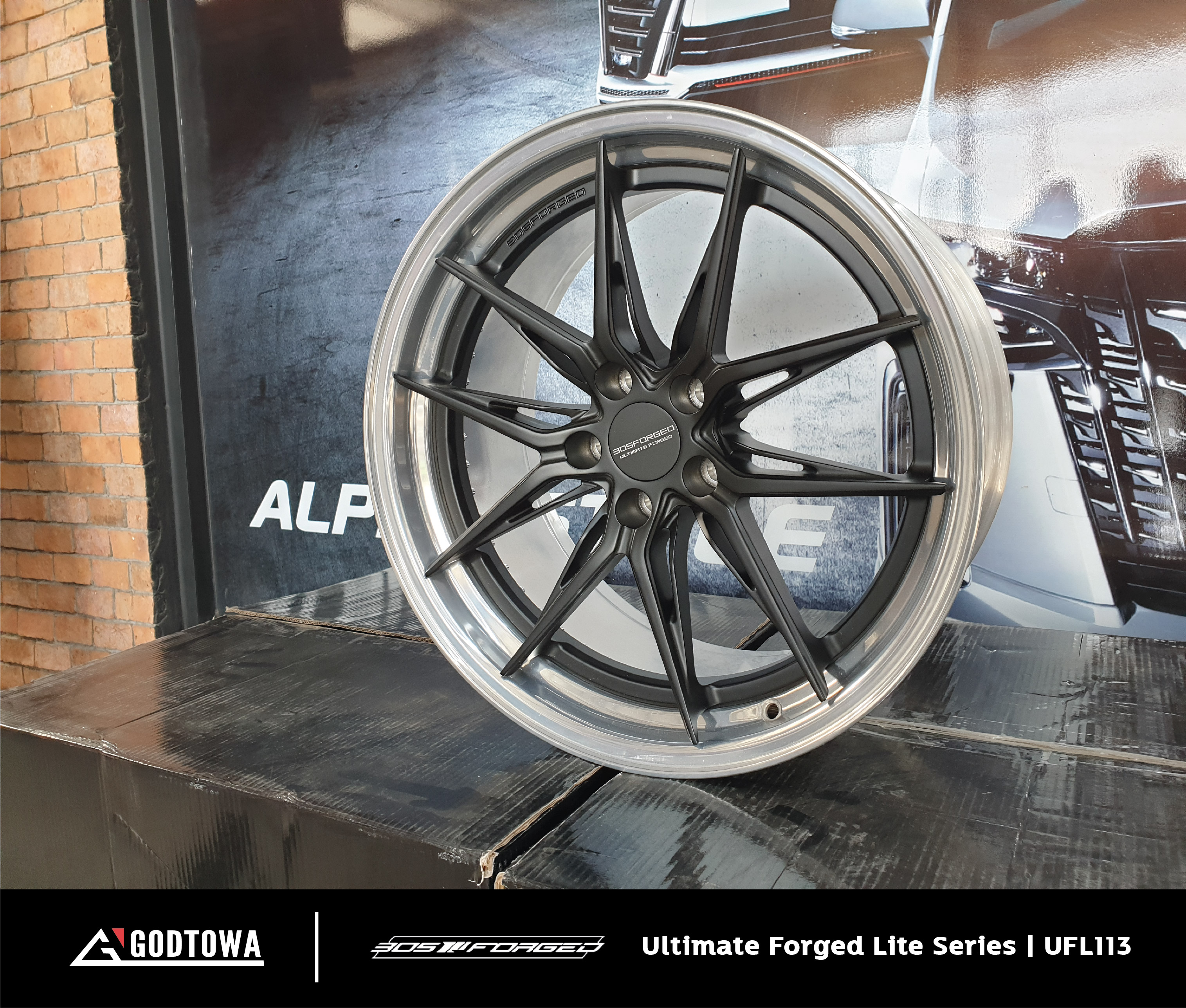 ล้อแม็กซ์ 305 Forged Ultimate Forged Lite Series | UFL113