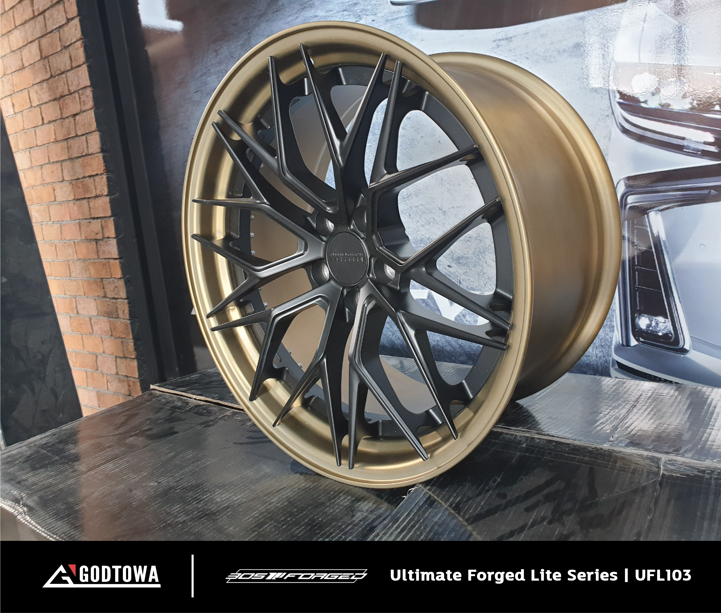 ล้อแม็กซ์ 305 Forged Ultimate Forged Lite Series | UFL103