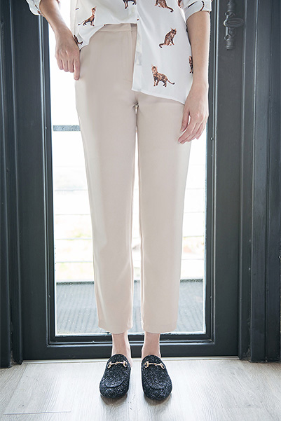 Tall Suit Trousers - Beige