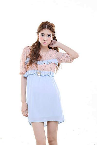 Little Flare Dress - Vanille