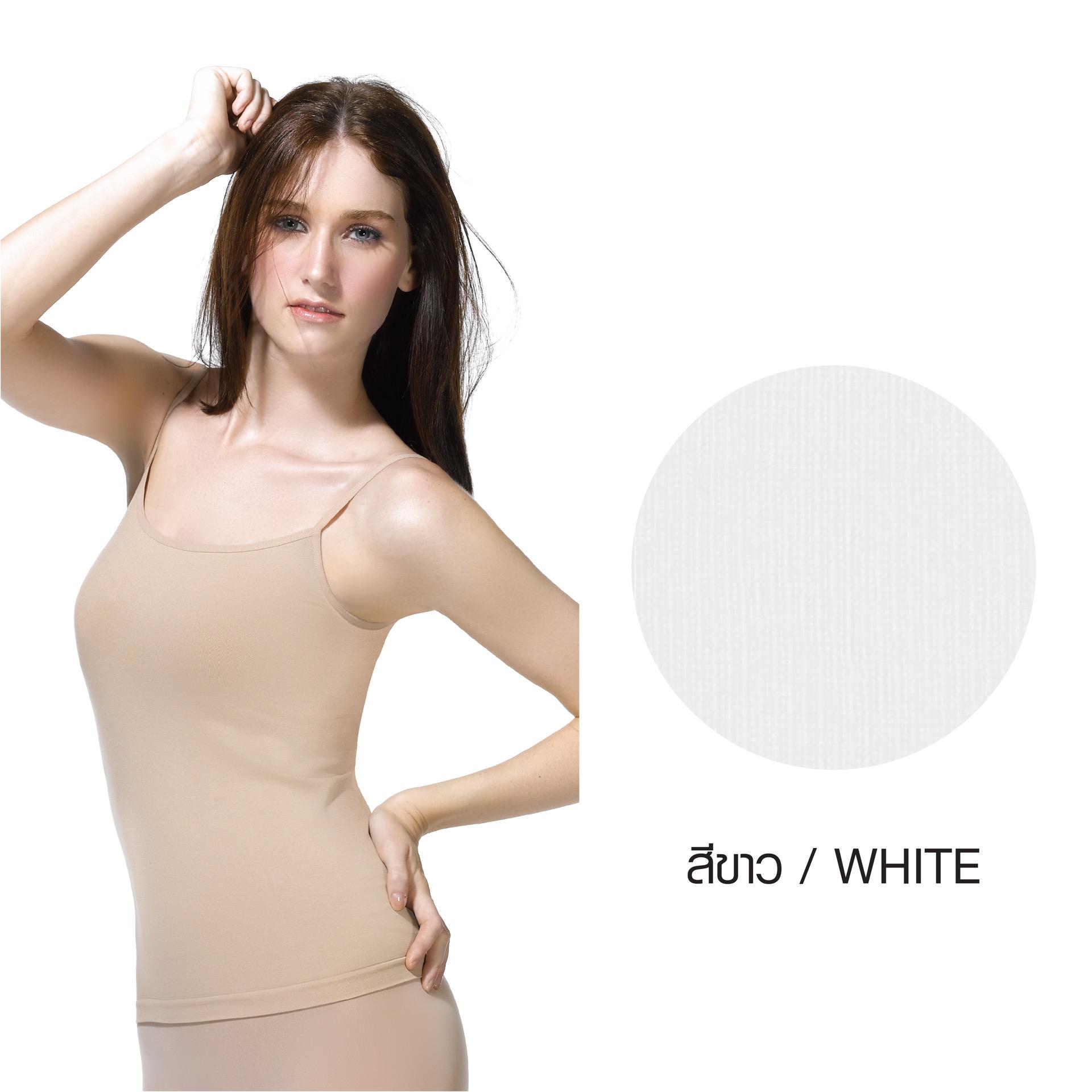 เสื้อบังทรงสายเดี่ยว Cherilon Intimate รหัส BSSL01 สีขาว