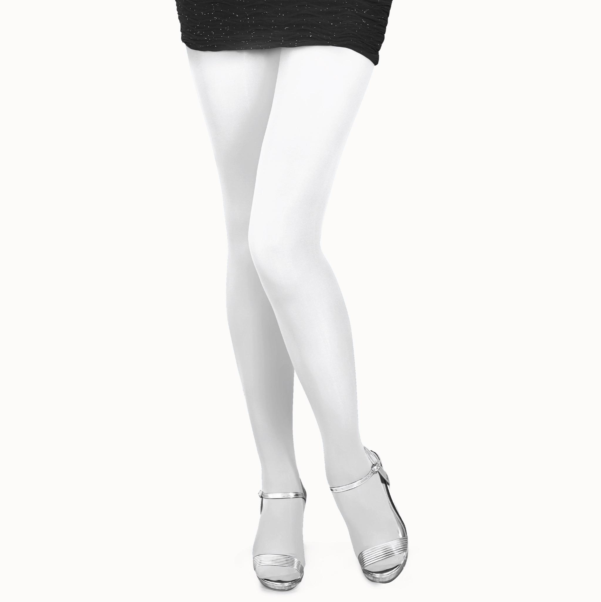 Colorful Legs ถุงน่องเนื้อหนา ZOKKI TIGHTS 70 ดีเนียร์ รหัส COP70 สีขาว