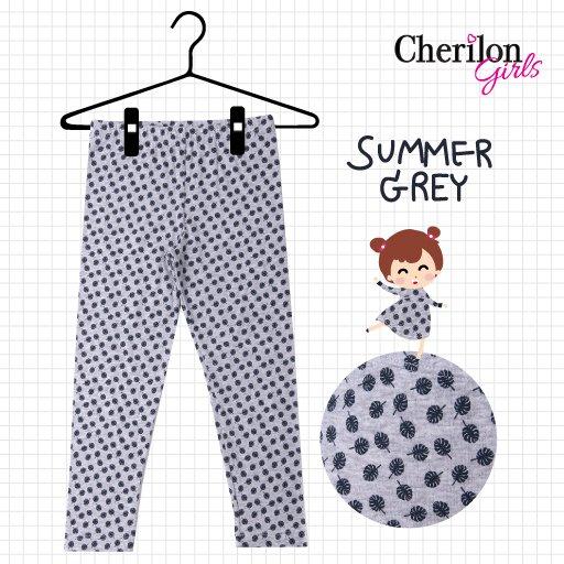 เลกกิ้งเด็กพิมพ์ลาย Summer Grey รหัส GL53