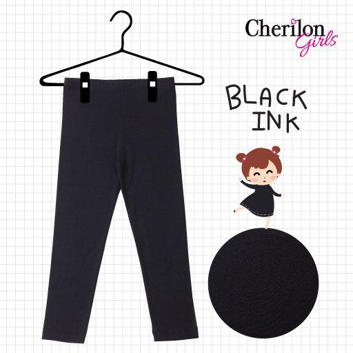 เลกกิ้งเด็กสีดำ Black Ink รหัส GL16